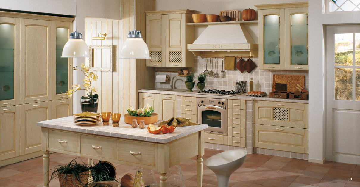 Classical style kitchens from stosa for Classic kitchen decor