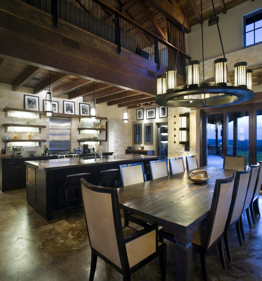Celebrity home lance armstrong for Ultimate kitchen design