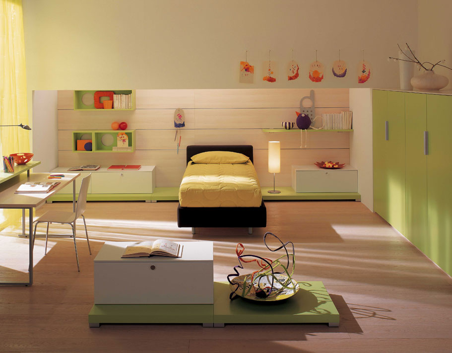 Amazing kids room designs by italian designer berloni for Interior design for kid bedroom
