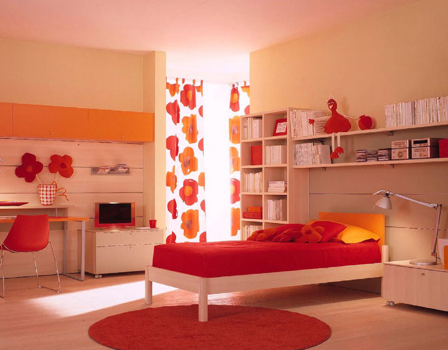 Amazing kids room designs by italian designer berloni for Kids bedroom designs