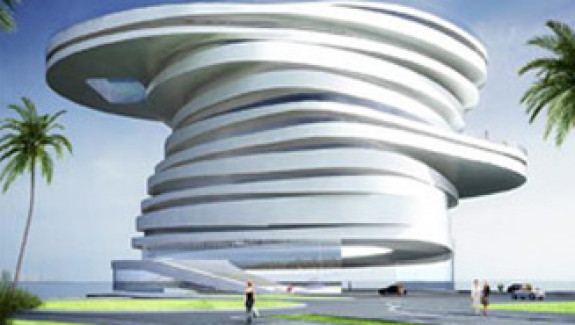 Design of Helix Hotel, Abu Dhabi