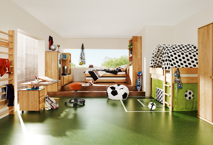 Sports themed kids room. Special Themed Rooms for Kids