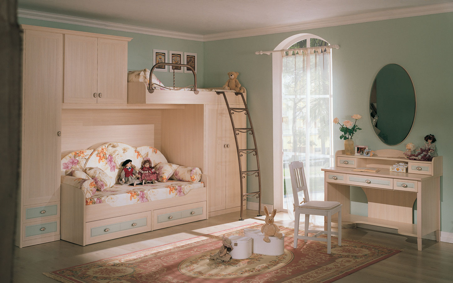 Kid 39 s rooms from russian maker akossta for Children bedroom ideas