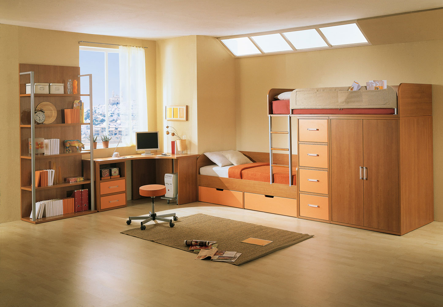 Kid 39 s rooms from russian maker akossta for Sofas para habitaciones juveniles