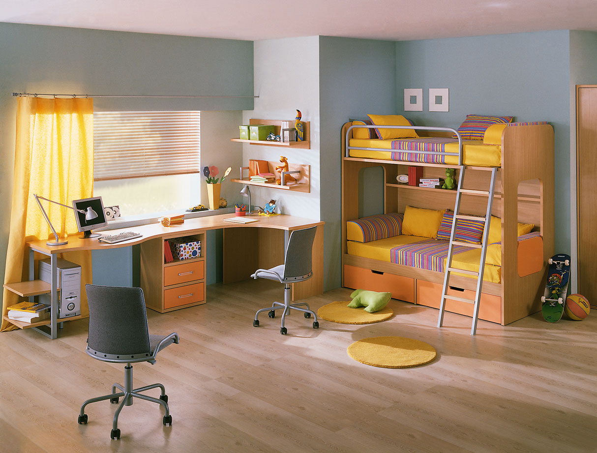 Kids Study Room Ideas 1214 x 921