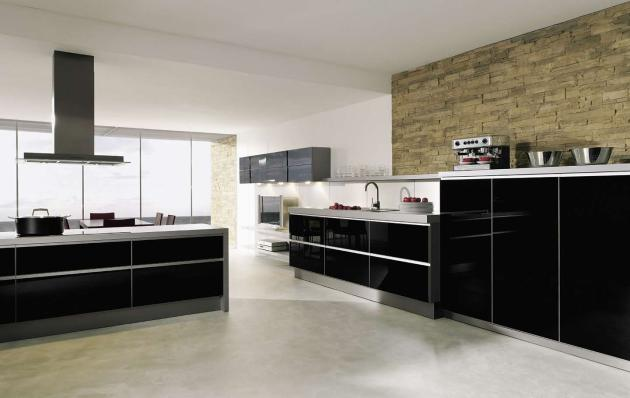 Types of kitchens alno Tiling a kitchen wall design ideas