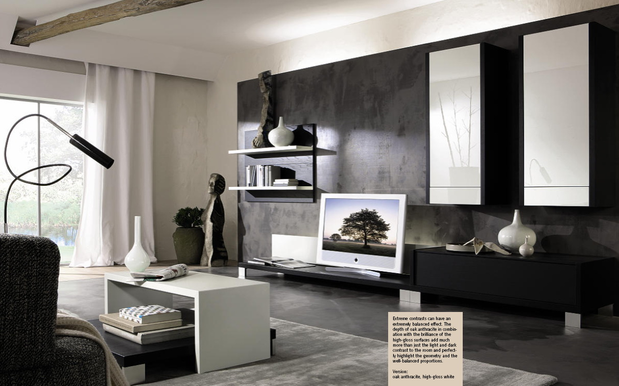 Stylish living room sets from huelsta for Interieur online