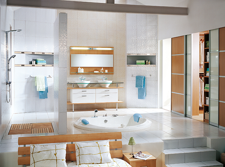 Modern Bathroom Designs From Schmidt Cool Bathroom With Closet Design