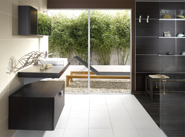 modern bathroom designs from schmidt. Black Bedroom Furniture Sets. Home Design Ideas