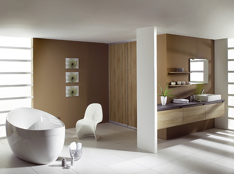 In home designs, bathrooms are often given low priority