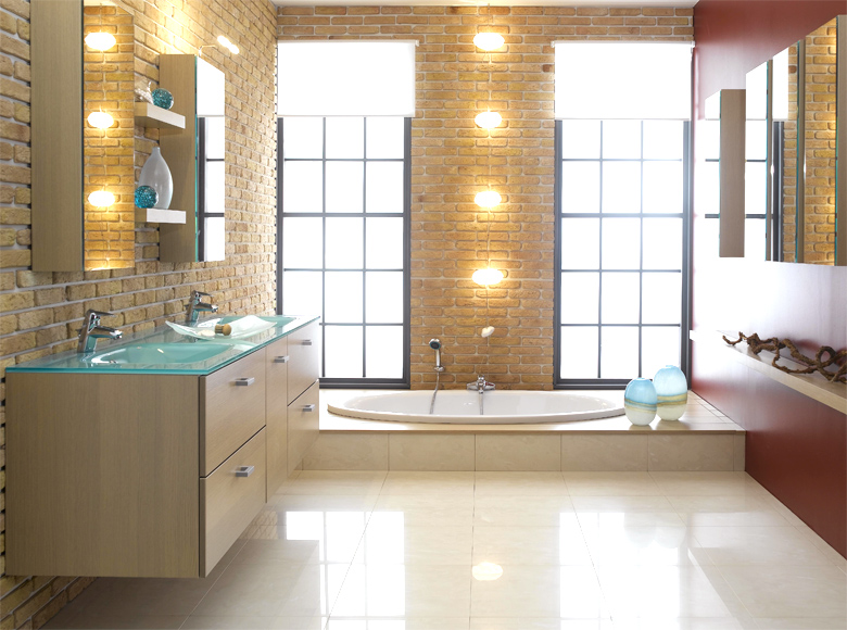 Wonderful Contemporary Bathroom Design