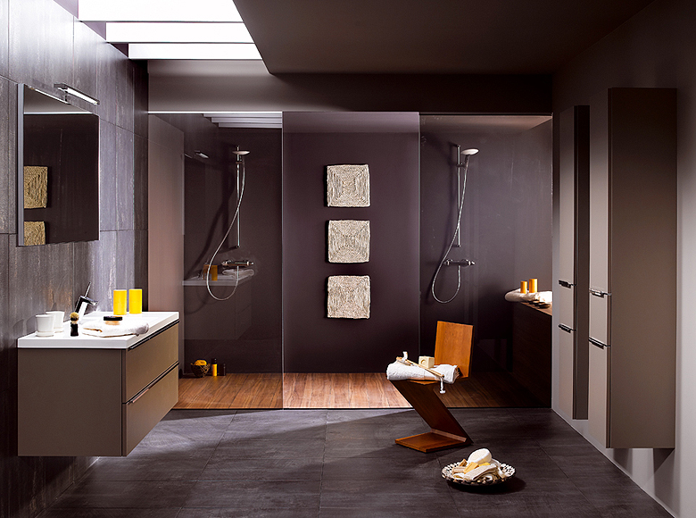 Modern bathroom designs from schmidt for Small modern bathroom ideas