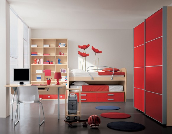 modern childrens room