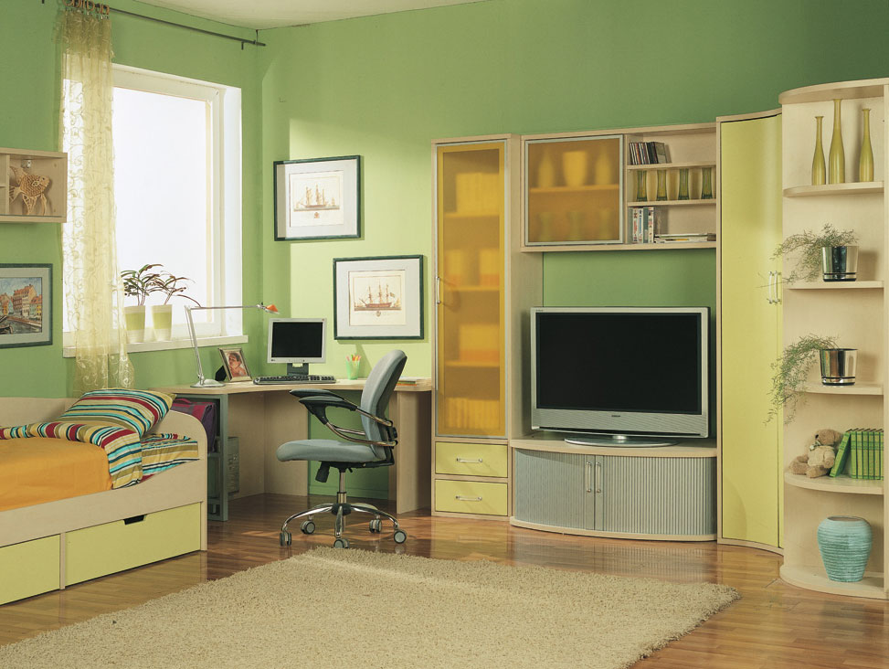 Kinderschreibtisch design  Kid's Rooms From Russian Maker:Akossta