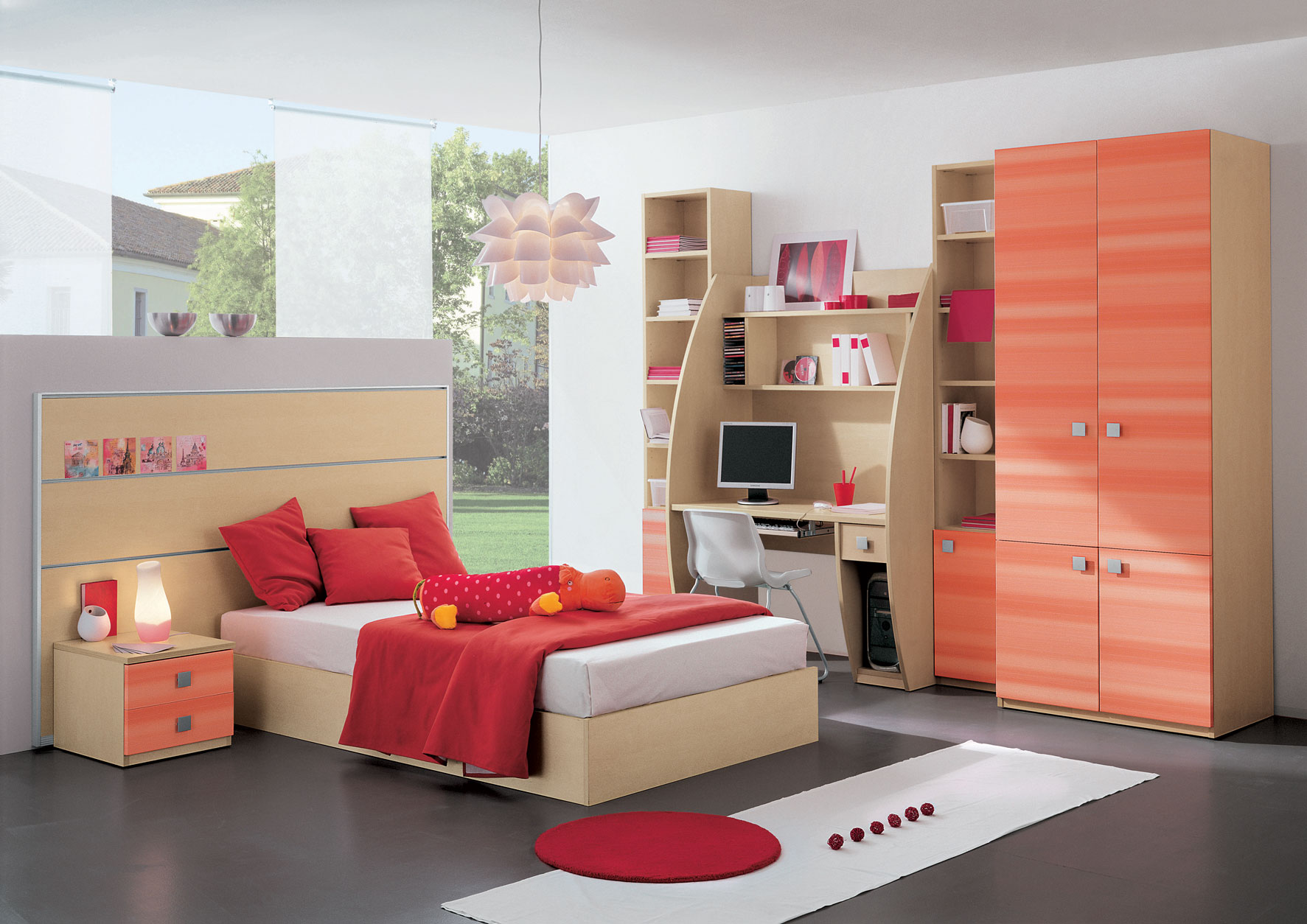 Kid 39 s rooms from russian maker akossta for Kids bed design