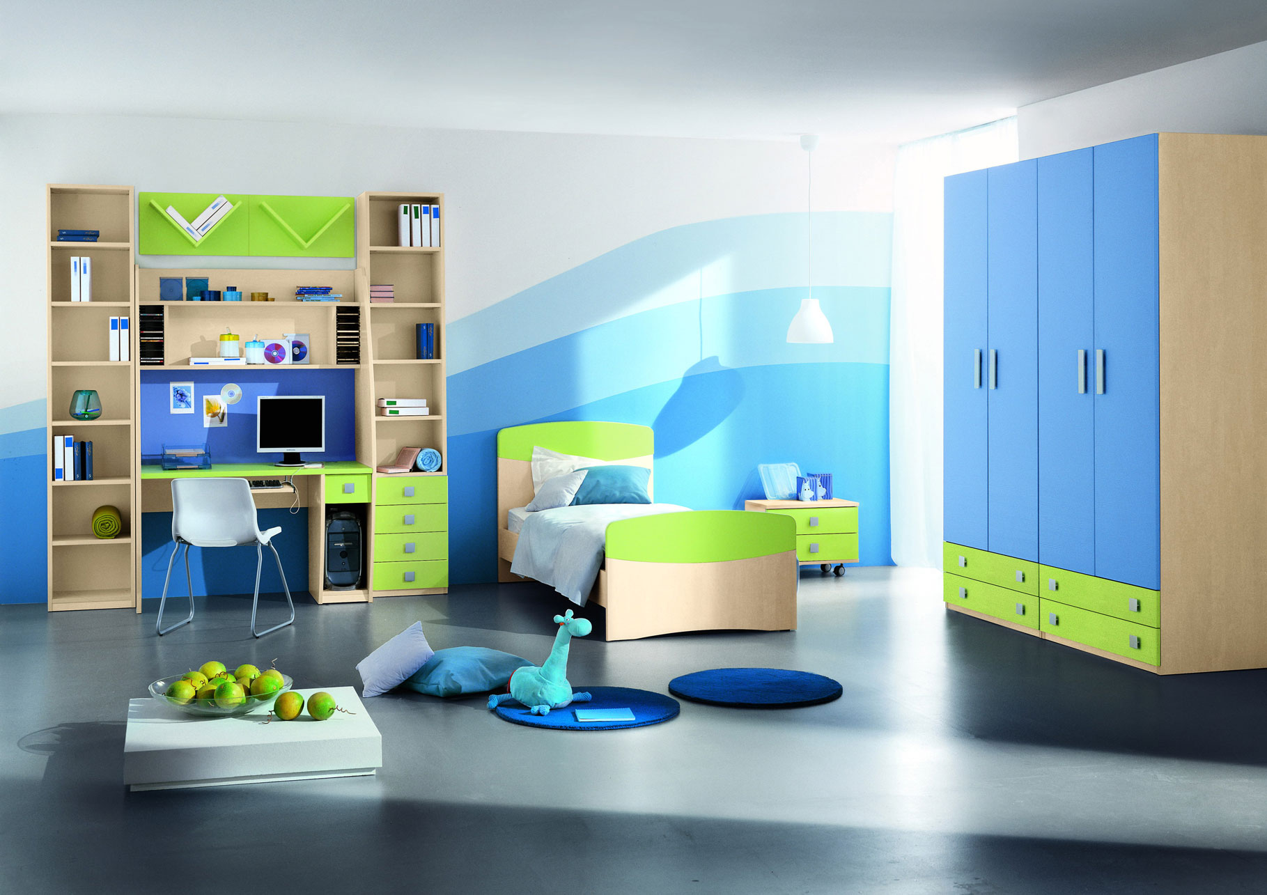 Awesome Modern Kids Room