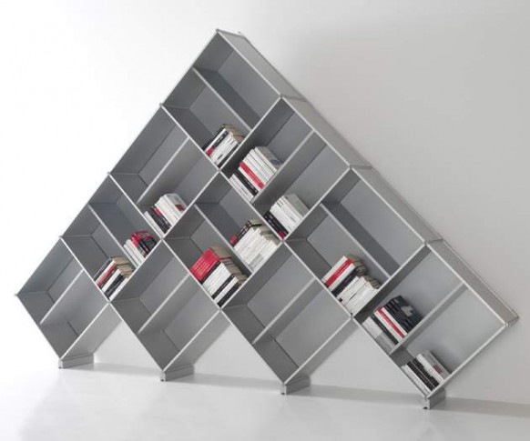 unique modular bookcase