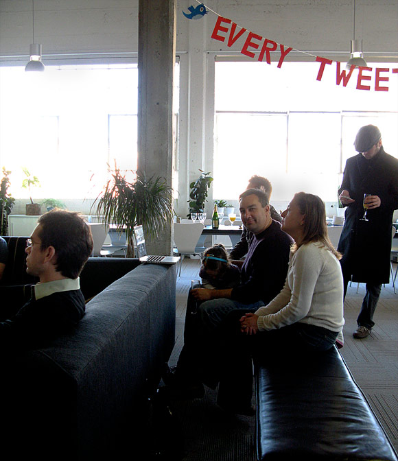 twitter office interior