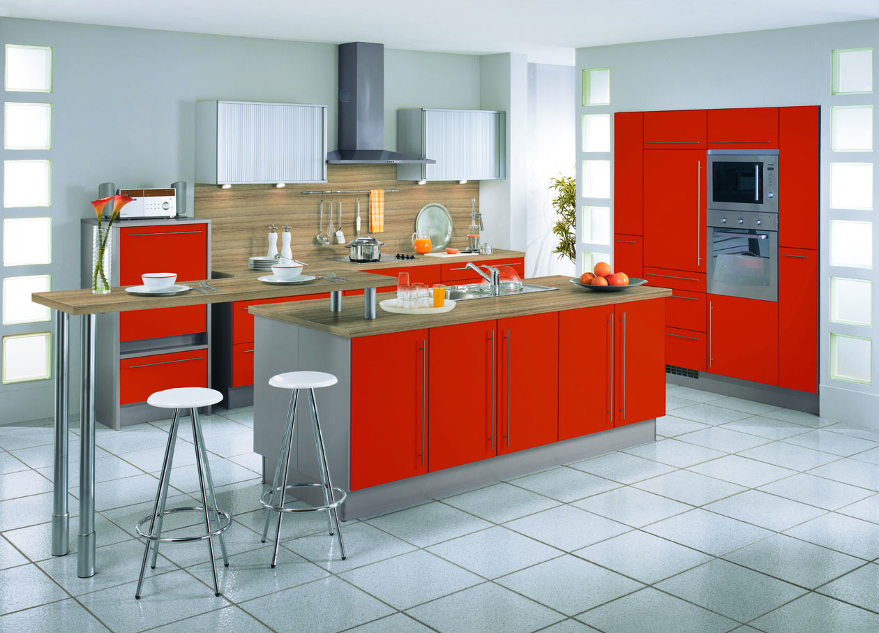 Types of kitchens alno for 2 wall kitchen designs