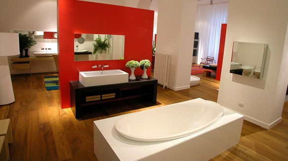 compartmental bathroom
