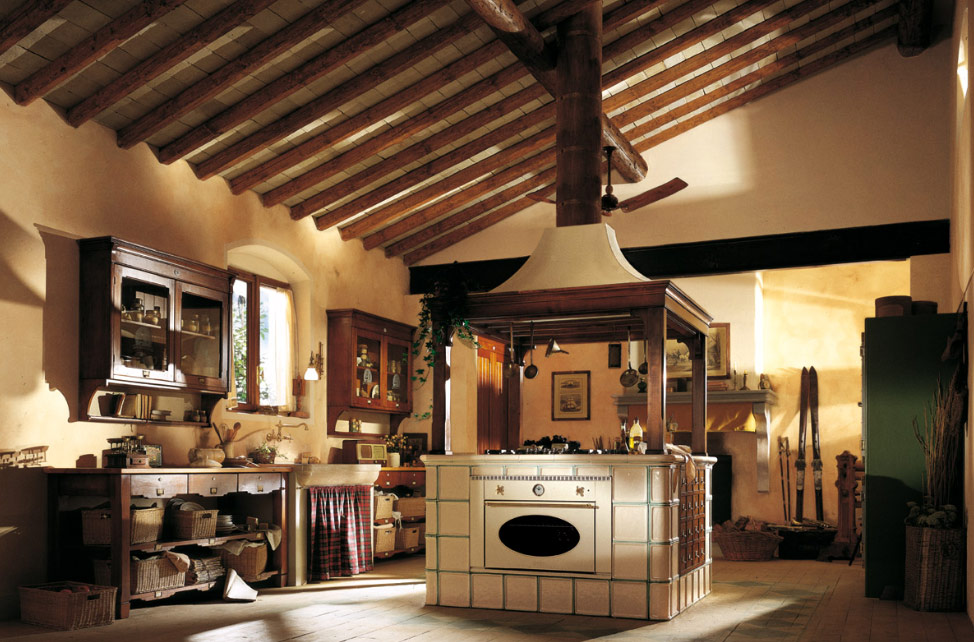 Country Kitchen Design old town and country style kitchen pictures
