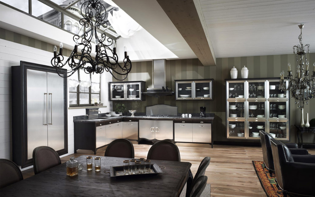 Classic Country Kitchen old town and country style kitchen pictures