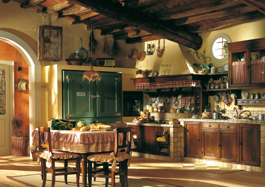 Country Rustic Kitchen Design In Addition Country Kitchen Cabi S
