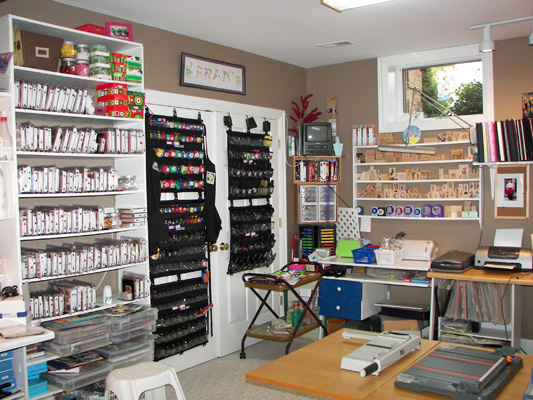 Craft room home studio ideas for Building a craft room