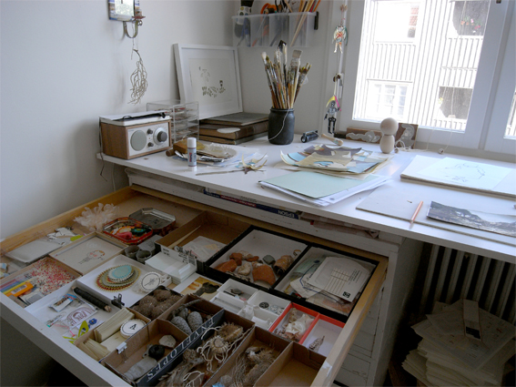 art and craft workplace by camilla engman - Art Studio Design Ideas