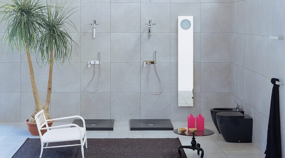 designer green bathrooms
