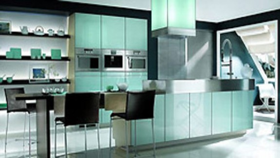 Black and White Kitchen From Mobalpa
