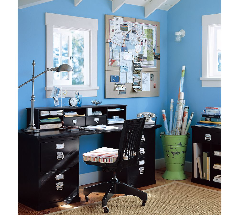 creative workplace from potterybarn