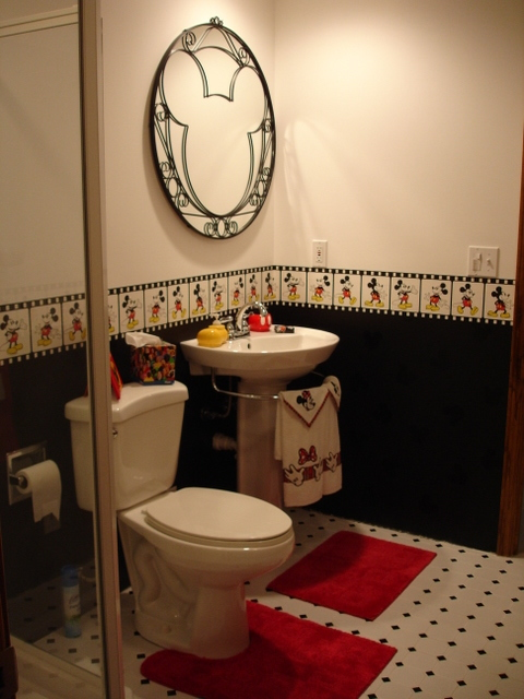 Kids bathroom sweet home Disney bathroom ideas