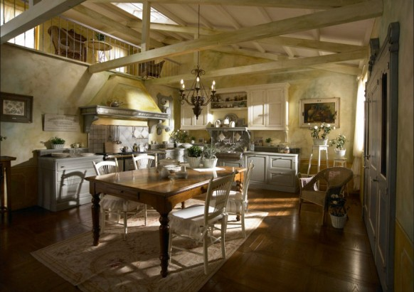 traditional country kitchens
