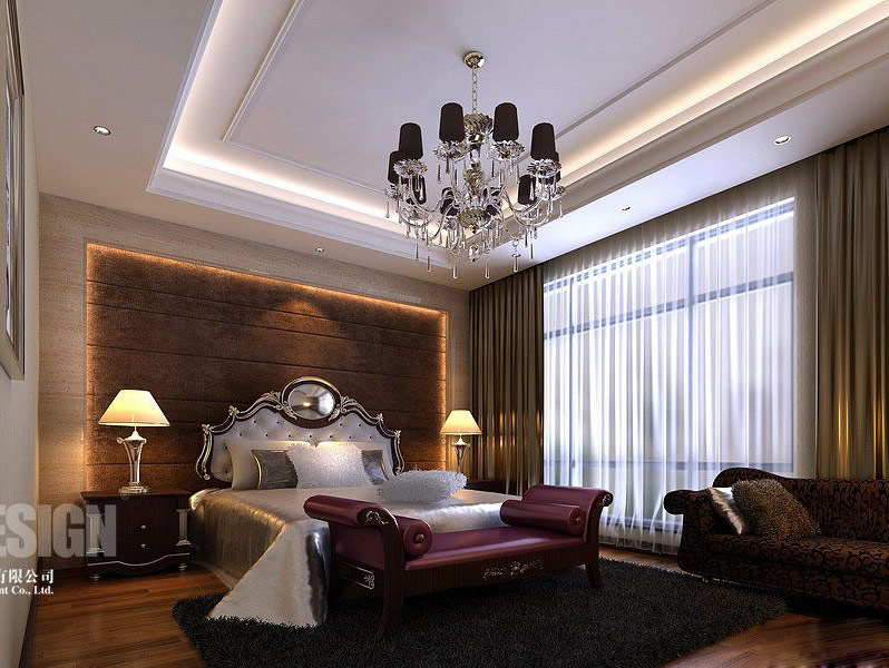 Chinese japanese and other oriental interior design for Classic bedroom design
