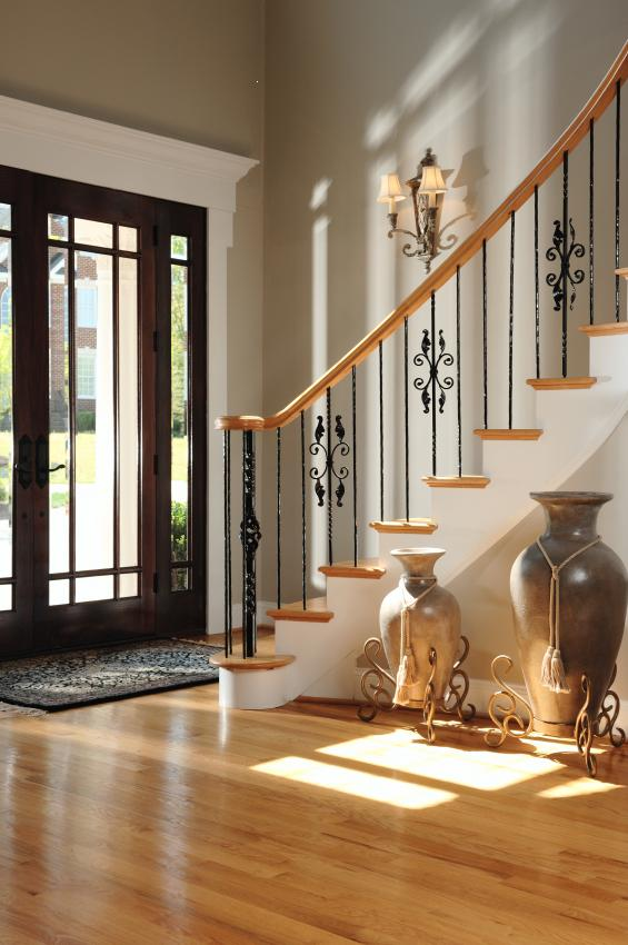 Foyer Flooring Ideas Endearing Foyer Design Decorating Tips And Pictures Review