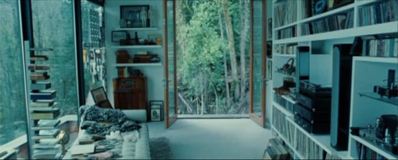 edward cullen house. Edward's room.
