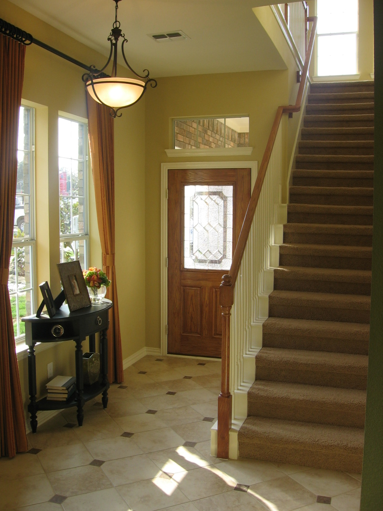 Office Foyer Images : Foyer design decorating tips and pictures