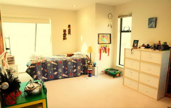 kids room natural light