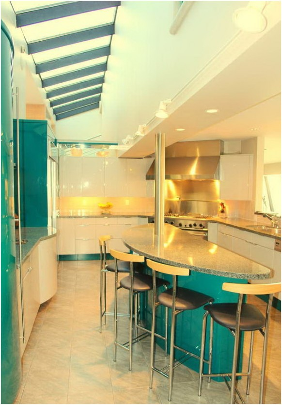 kitchen dining space saving
