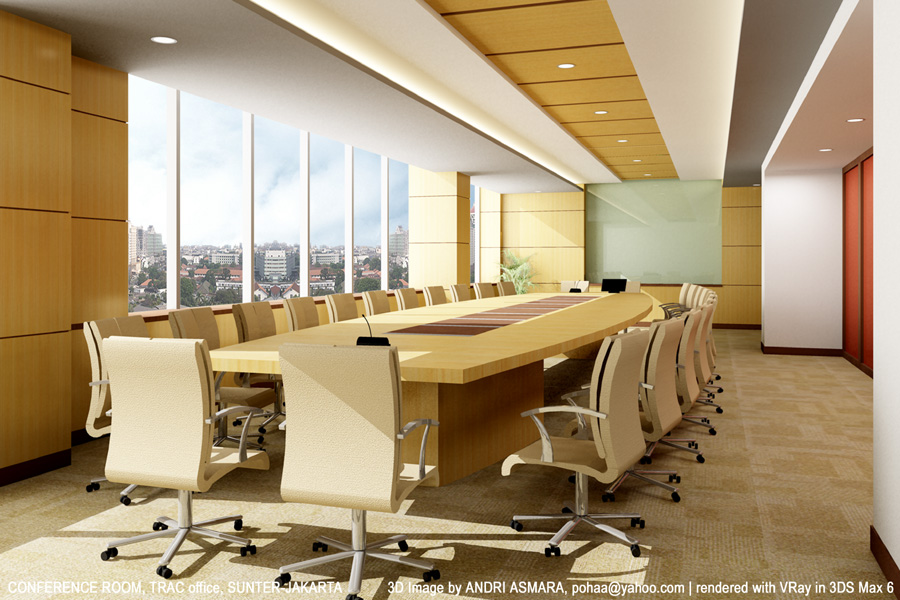 Superb Meeting Room Design Ideas Part - 2: Large Meeting Room
