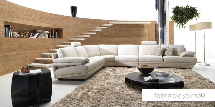 Living room sofa furniture for Modern style living room furniture