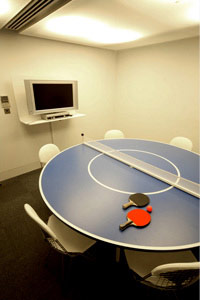 meeting room table tennis