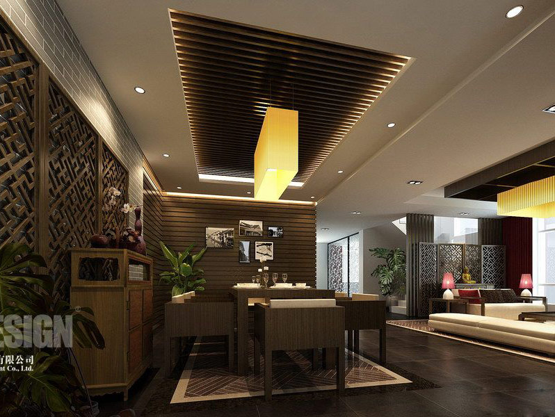 Chinese japanese and other oriental interior design for Japanese office interior design