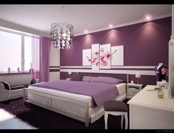 Outstanding Purple Bedroom Ideas 582 x 447 · 54 kB · jpeg
