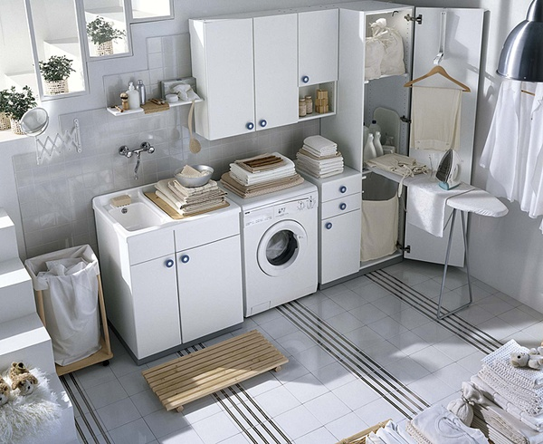 Basement Laundry Room Interior Remodel Laundry Room Storage Organization And Inspiration