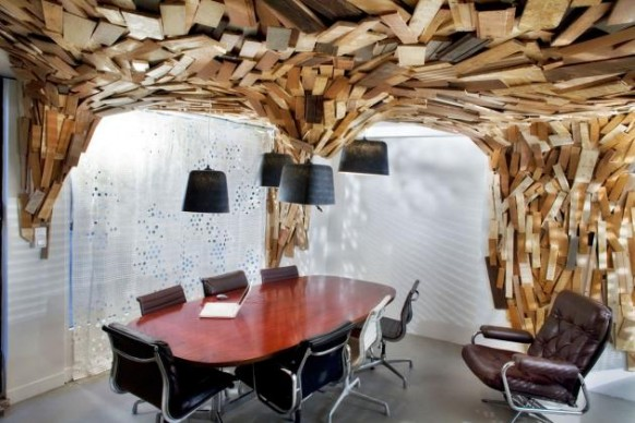 strange meeting room