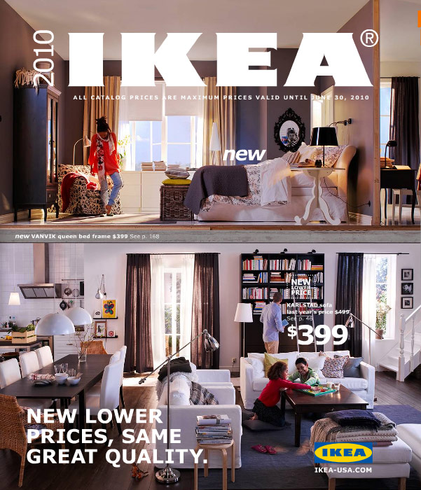 Ikea 2010 catalog Home style furniture catalogue