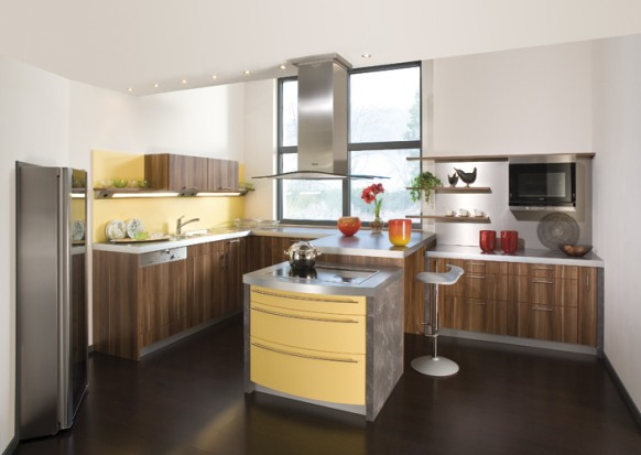 Remmp german yellow kitchen