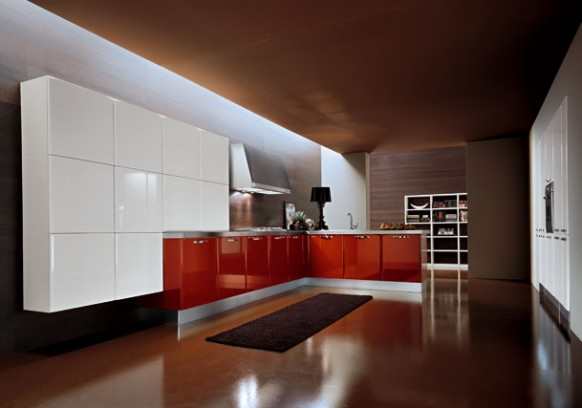 armony cucine red